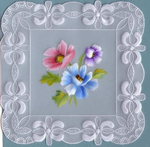 Papel vegetal decorado