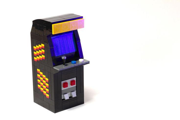ArcadeMachines2 Arcade machine, Arcade, Lego room