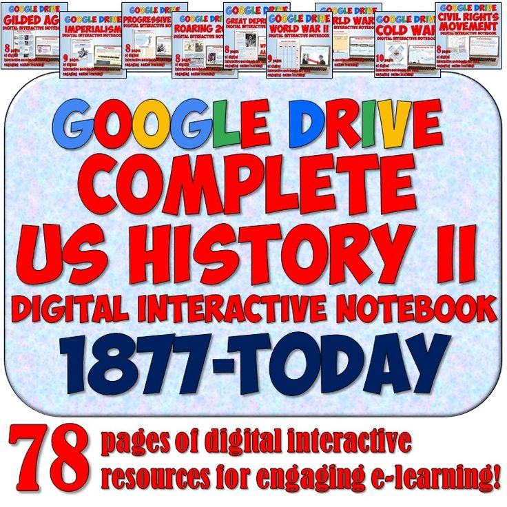 best early america lessons images history  american history 2 1877 present google drive interactive notebook bundle