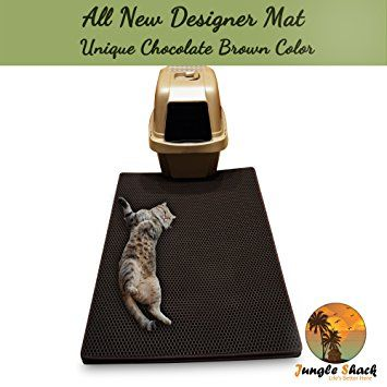 cat litter mat xl 39u2033 x 265u2033 best extra large easy to clean mats u2013 brush away debris deep grooves to catch kitty litter scatter durable nonslip bed