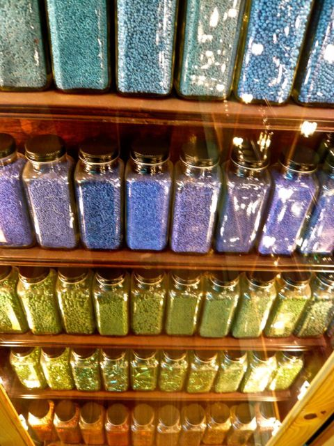 beads ~ how I want my craft room to look...