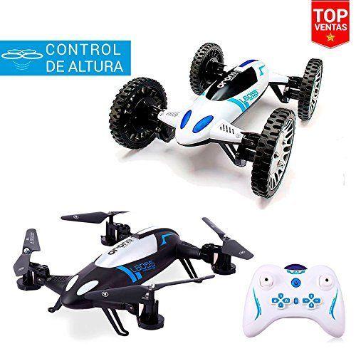 Coche Drone Transformer | 2 en 1 | 20 km/h | Control de Altura | Juguetes Baratos Niños - http://www.midronepro.com/producto/coche-drone-transformer-2-en-1-20-kmh-control-de-altura-juguetes-baratos-ninos/