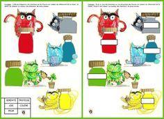 """Propositions d'exploitation pédagogique de """"la couleur des émotions"""" et du """"monstre des couleurs"""" en maternelle (en MS et GS)."""