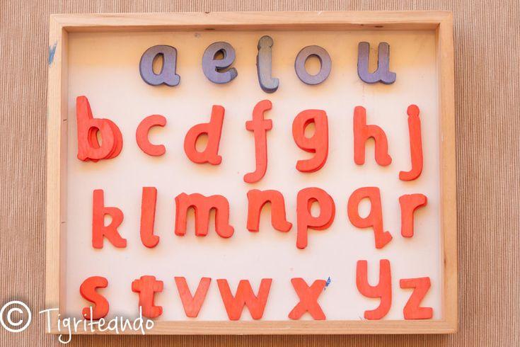 Alfabeto móvil Montessori: Lowcost, exprés y DIY