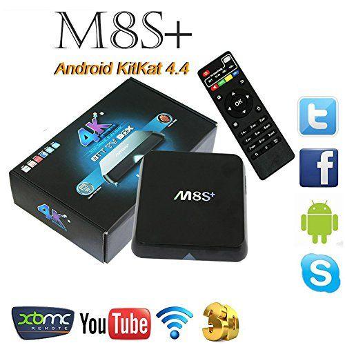 M8S+ Android Smart TV Box M8S+ M8S Plus Amlogic S812 4K 2G/8G KODI Dual WIFI AP6330 Full HD Android 5.1 Media Player M8S TV Box DMYY http://www.amazon.co.uk/dp/B01CG25BFI/ref=cm_sw_r_pi_dp_zz77wb0KQQHE9