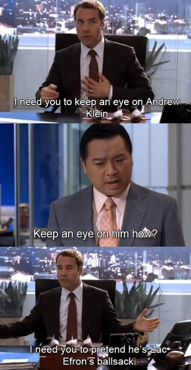 Entourage.. I miss Ari Gold. Best character ever!