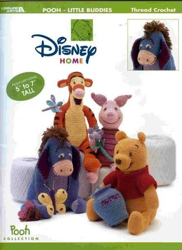 Picasa Amigurumi Disney : Winnie the pooh, Free crochet and Friends on Pinterest
