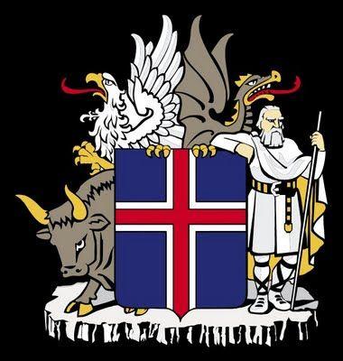 Landvættir - štyria ochrancovia Islandu. Rozdeliť DVD na tieto štyri časti. Každý z ochrancov chráni jednu svetovú stranu. Býk, orol, drak a obor.