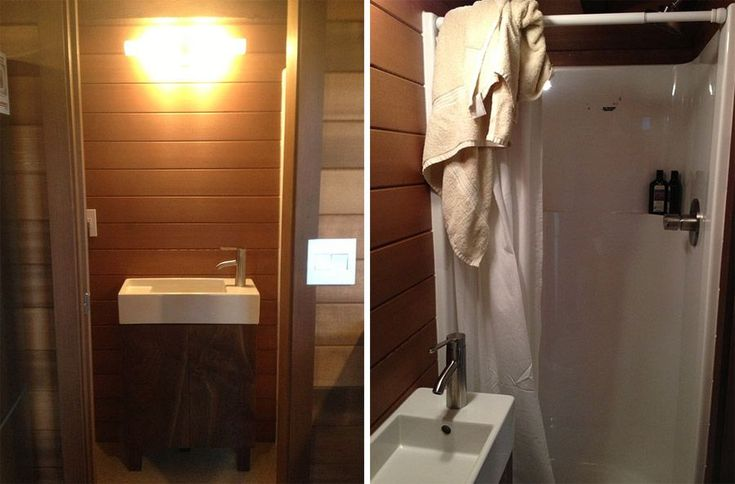 Cider Box on Wheels Bathroom