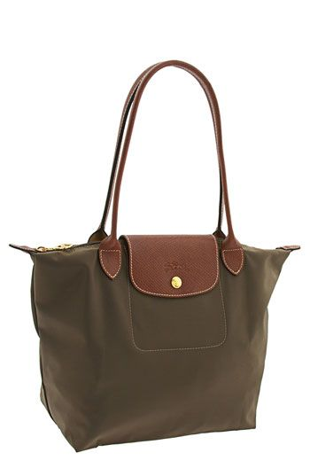 Longchamp 'Le Pliage - Small' Shoulder Tote I want this! (I want in navy or black)