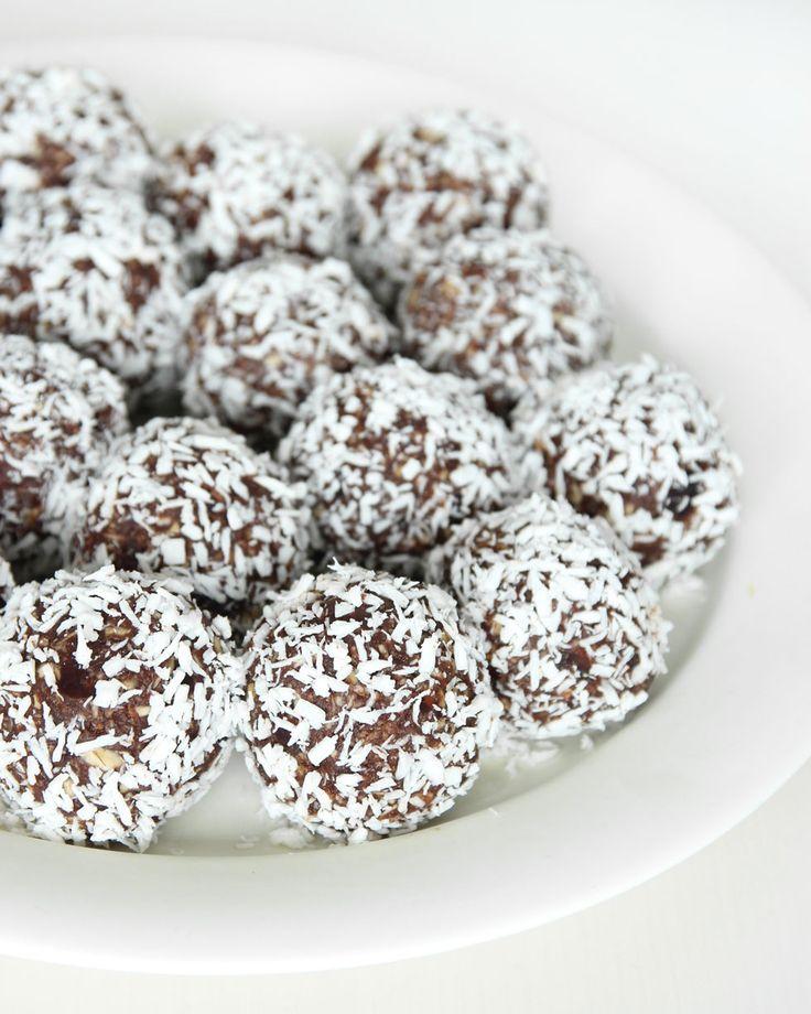 Nyttiga chokladbollar utan socker – Lindas Bakskola