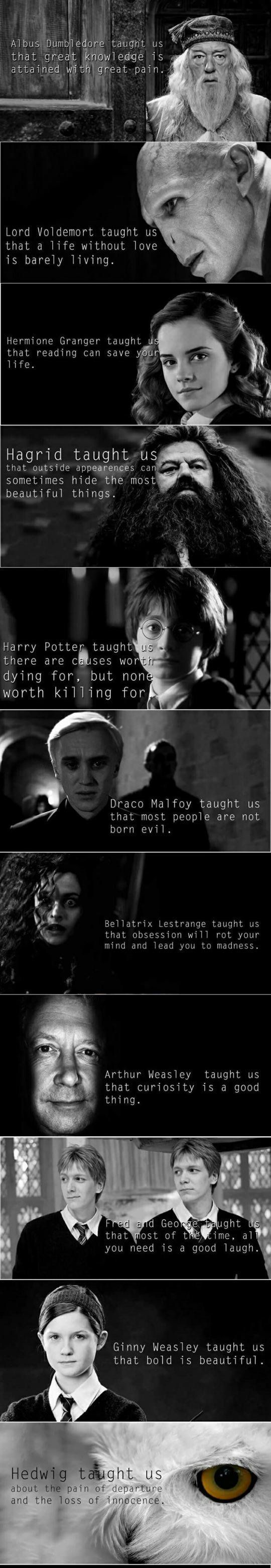 The Moral Of Harry Potter