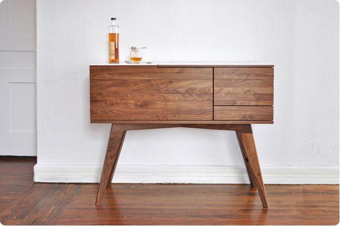 liquor cabinet.Modern Furniture, Side Tables, Bar Tables, S'Mores Bar, S'More Bar, Liquor Cabinets, Sidebar, Bar Carts, Bar Cabinets