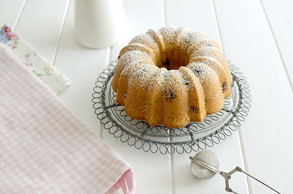 Blueberry orange bundt cake - Bundt cake de arándanos y naranja