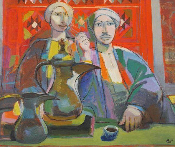 Faeq Hassan's Coffee Corner | Ayyam Gallery's Young Collectors Auction