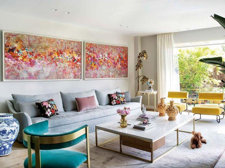 El sofá extralargo es el Louvre de Blasco&Blasco. # sofás #decoración…