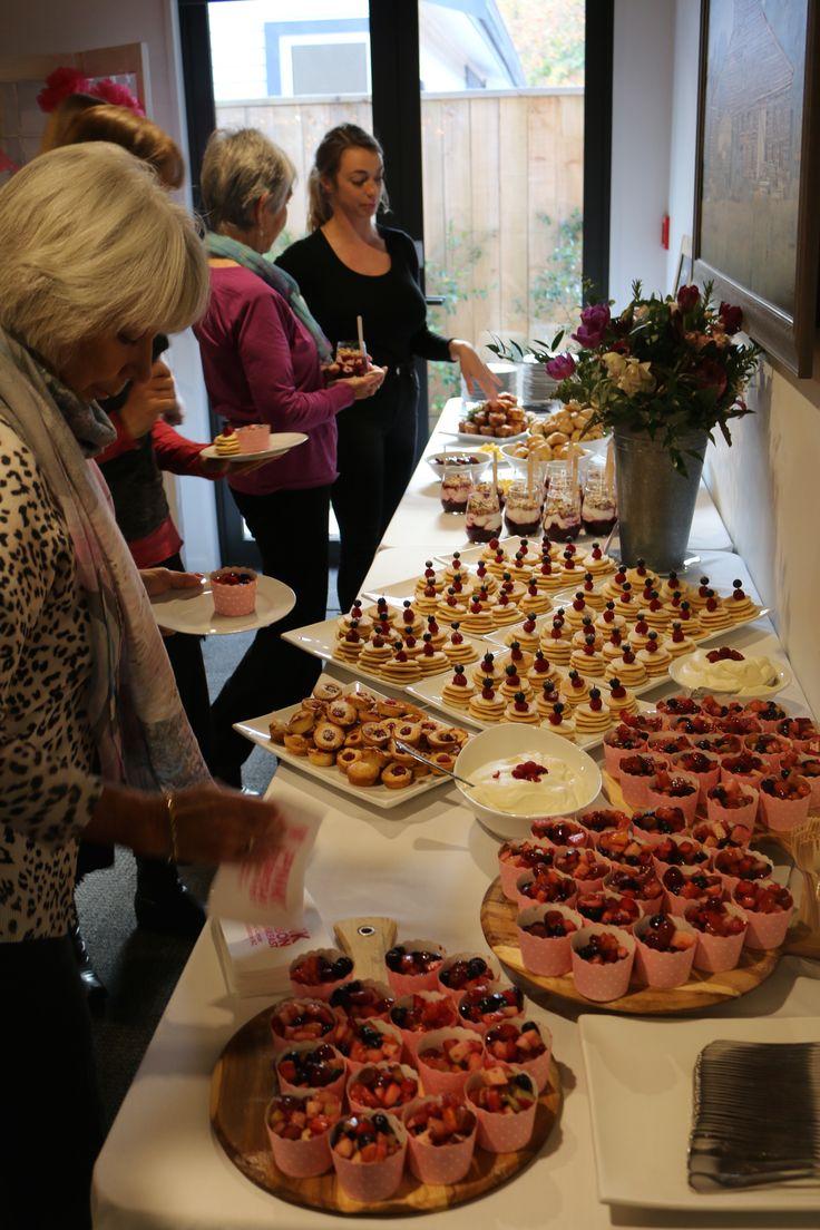 Pink Ribbon Breakfast buffet, May 2017