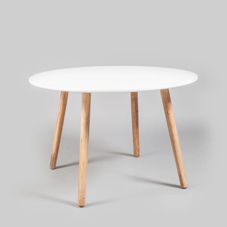 Ray matbord, vit/ek i gruppen Möbler / Bord / Matbord hos RUM21.se (123999)