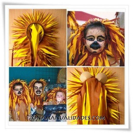 Tutorial melena de león Carnaval 2013