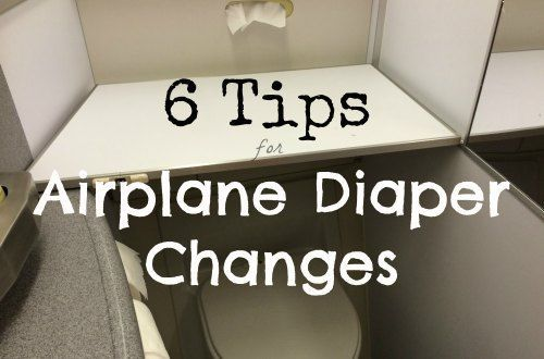 When traveling with babies and toddlers, changing diapers on a plane can get messy. Make it easier by following our 6 tips for airplane diaper changes.