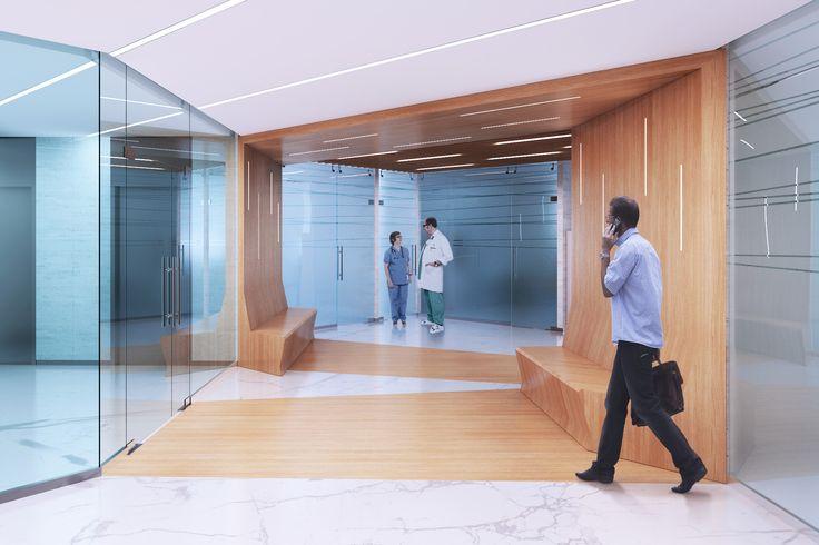 Project of Guta clinic interior
