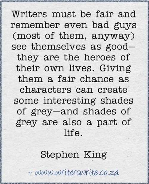Stephen King | Writing Tips | Tumblr