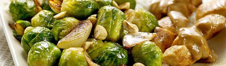Recept voor Spruitjes met sjalotten en hazelnoten | Vers van de Teler