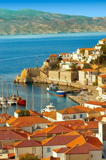 Hydra, Greece (motorized vehicles not allowed)