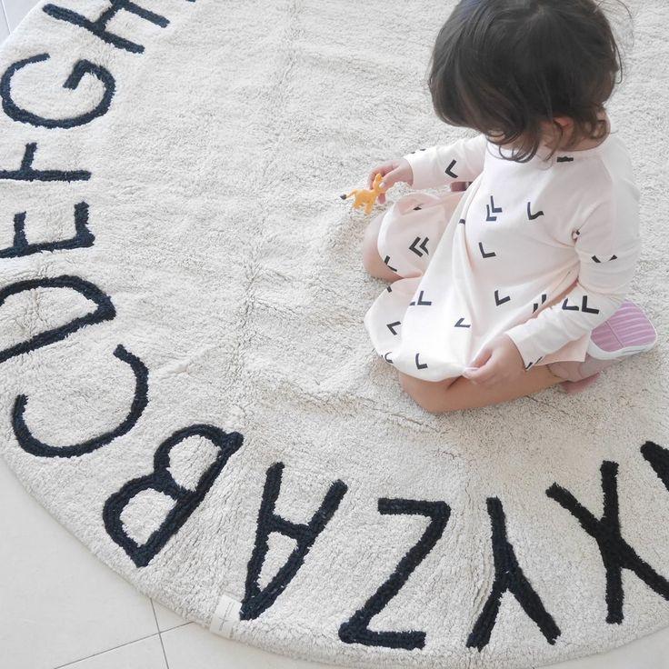 Round ABC Rug  Kid PlayroomKid RoomsPlayroom. Best 25  Playroom rug ideas only on Pinterest   Kids playroom rugs