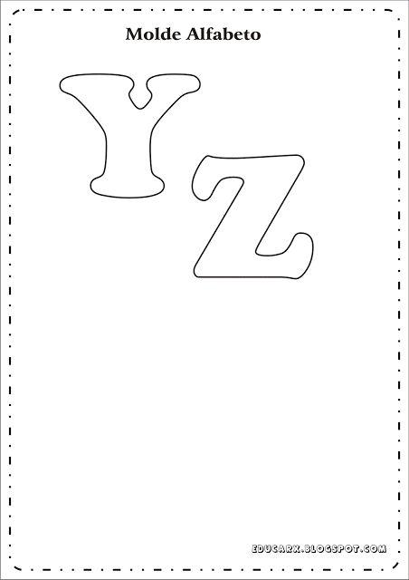 JORNAL PONTO COM: Modelo de letras para cartaz.