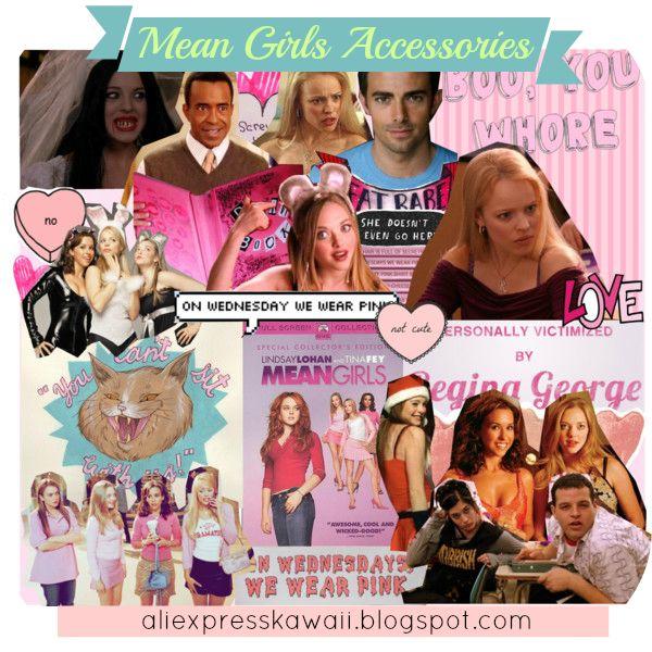 Aliexpress Kawaii Shopping: Mean Girls Accessories on Aliexpress