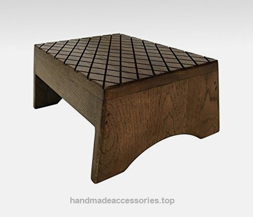 Step Stool Solid Hardwood in Espresso by Candlewood Furniture Bed Bedroom  Kids Foot Stool Check It. 17 Best ideas about Step Stool For Bed on Pinterest   Organize