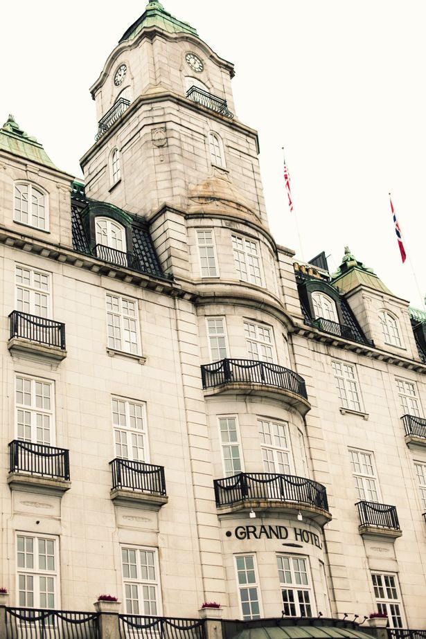Grand Hotel, Oslo, Norway The Norwegian Nobel Peace Prize Committee put us up here.I was so proud and excited.