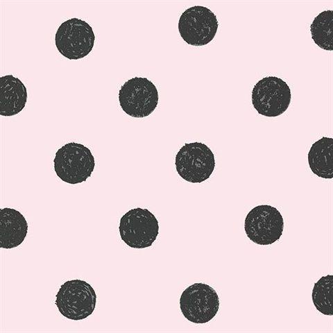 Lunette Light Pink Polka Dot
