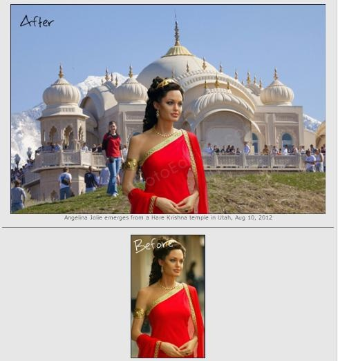 Hare Krishna photo background. We can also remove backgrounds, merge photos. Quick photo editing is free.  http://www.freephotoediting.com/samples/change-background/109_angelina-jolie-visits-hare-krishna-temple-in-utah.htm