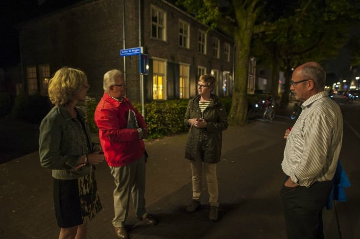 Nuenen also participated in our BrabantNacht by showing people how beautiful the night is in their Van Gogh town...