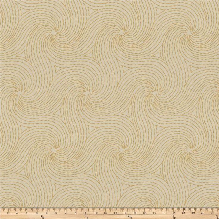 Fabricut Anytime Swirl Mustard  $118.40 per yd