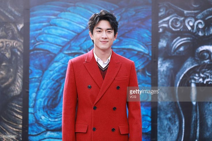 News Photo : Actor Lin Gengxin attends the press conference of...