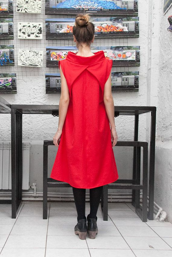 Red Dress by myfigura on Etsy