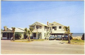 Old Pictures of Myrtle Beach SC | ... about Myrtle Beach SC Ocean Front Motel Old Cars Vintage Postcard