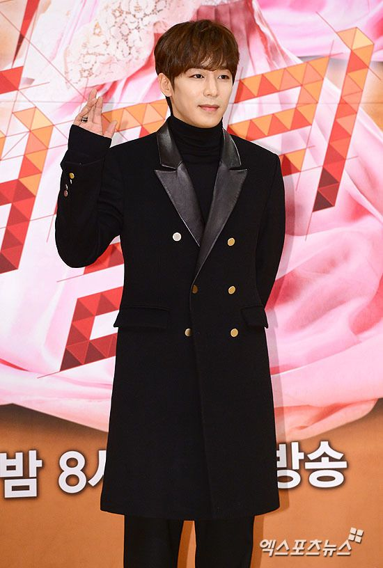2014-12-30 The Family Is Coming press conference | Kim Ji Han (Jin Yi Han)