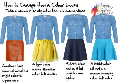 Using Simultaneous Contrast to Change the Way a Colour Looks