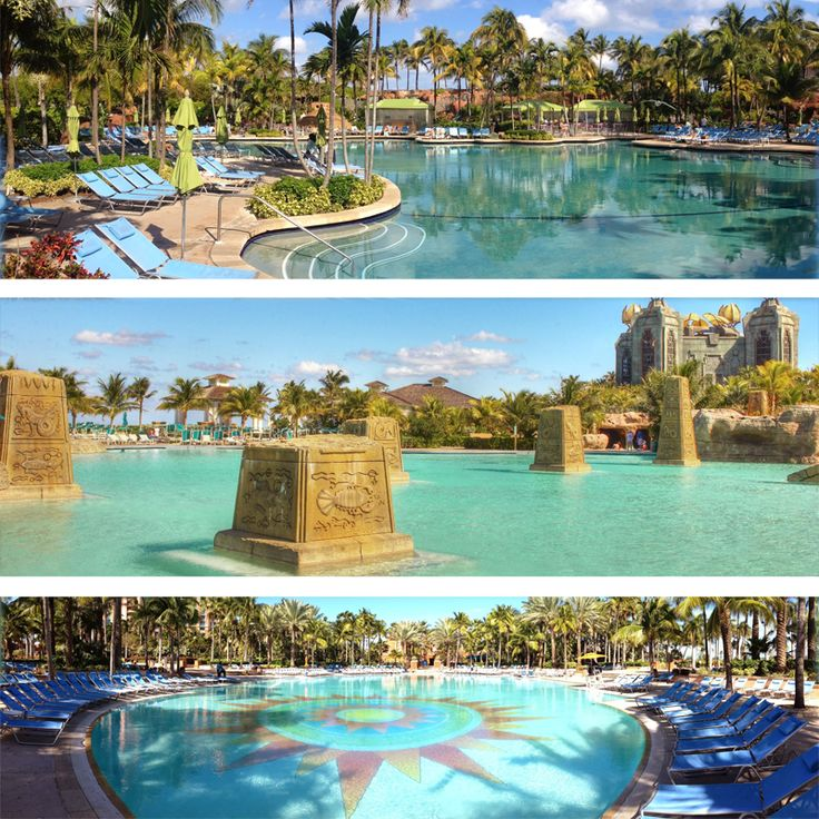 17 best images about vacation on pinterest disney for Atlantis pools