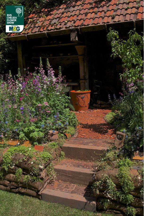 RHS Chelsea Flower Show - Artisan Garden - The DialAFlight Potter's Garden DialAFlight Nature Redesigned