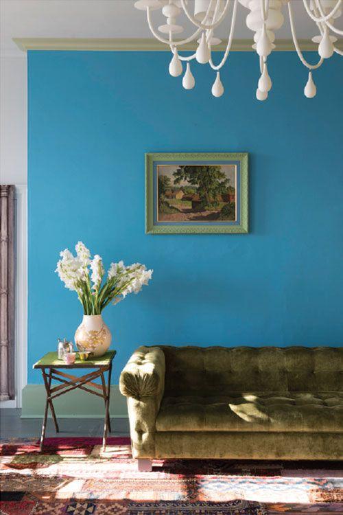 Farrow And Ball St Giles Blue Bedroom Project Farrow
