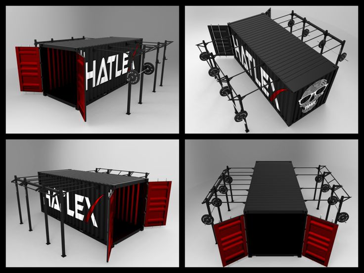 HATLEX® Store OUTDOOR CONTAINER - CROSS TRAINING