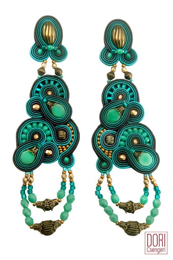 Turquoise in all its glory - cythera earrings. #doricsengeri #cythera #earrings #jewelry #accessories