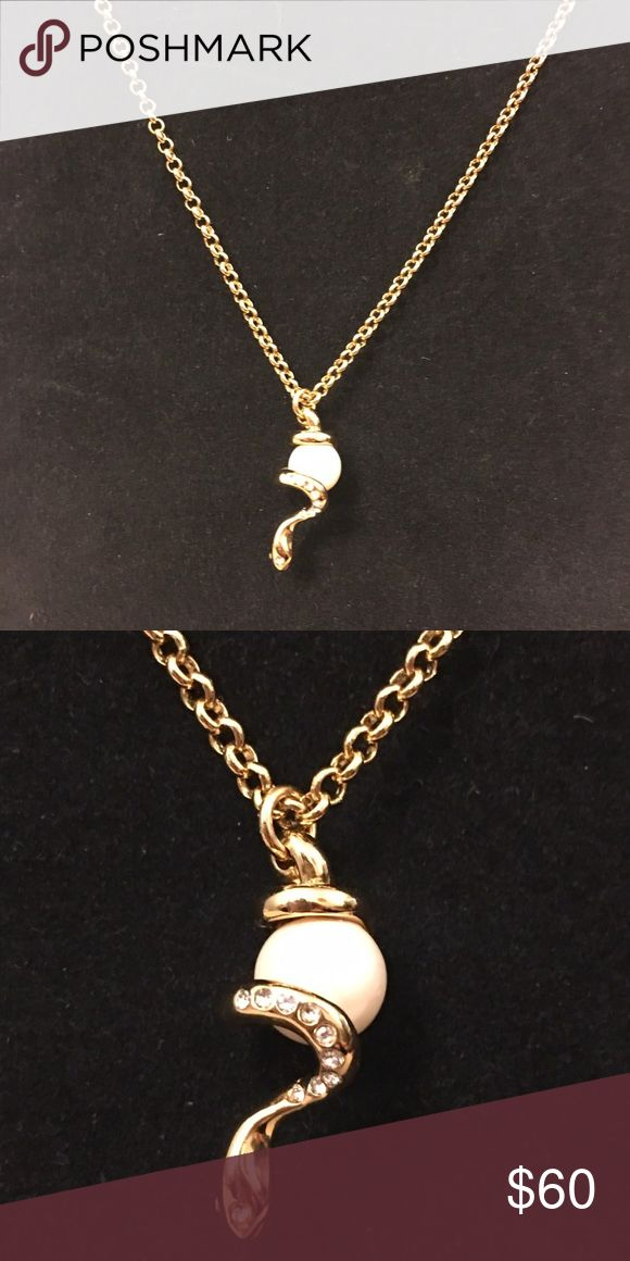 Kate Spade Spirit Animal series Chinese Zodiac year of your birth spirit animal series by Kate Spade 30 inches for the chain from tip to tip and 1.25 inches for the pendant with a three inches extension. Gold plated crystals on the pendant . kate spade Jewelry Necklaces