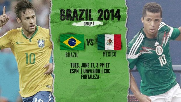 Brasil X Mexico today 16:00/hrs