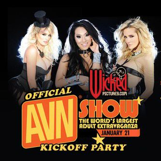 AVN The Adult Entertainment Expo parties